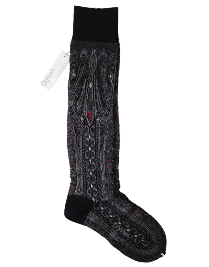Ayame Socks Black Cobra