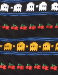 Rainbow Knitwear Wool Scarf Ghosts