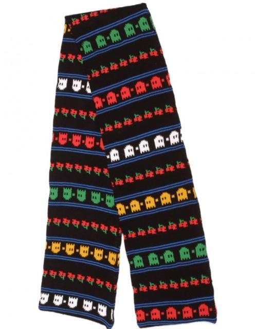 Rainbow Knitwear Wool Scarf Ghosts