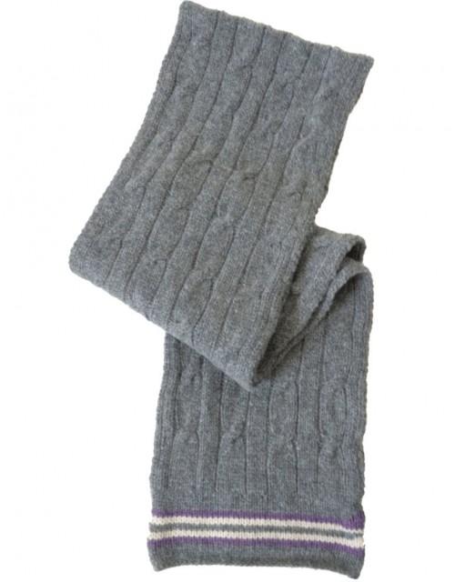 Shepland Cricket Scarf Grey